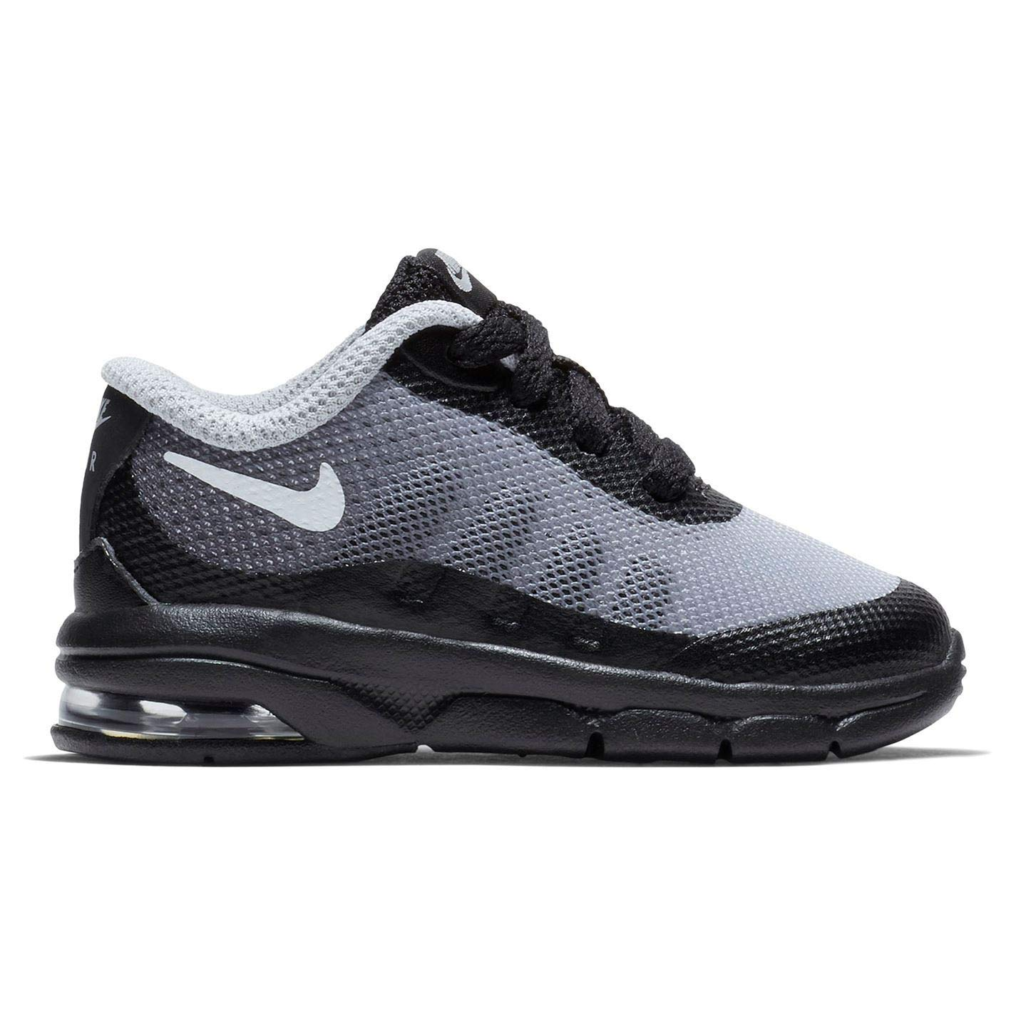 Details about Nike Air Max Invigor Print Boys Trainers BlackWhiteGrey Shoes Footwear