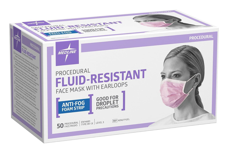 Amazon.com: Medline non27712el fluid-resistant Procedimiento ...