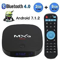 2018 Newest MXQ Mini Android 7.1 TV Box 2GB RAM+8GB ROM Support BT 4.0/HD/H.265/4K(60HZ)/LAN 100M …