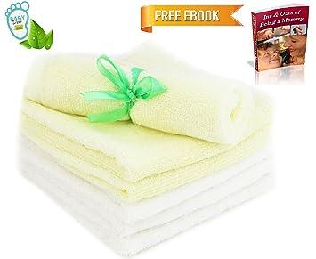 Amazoncom Bamboo Baby Washcloths Luxury And Comfort 100