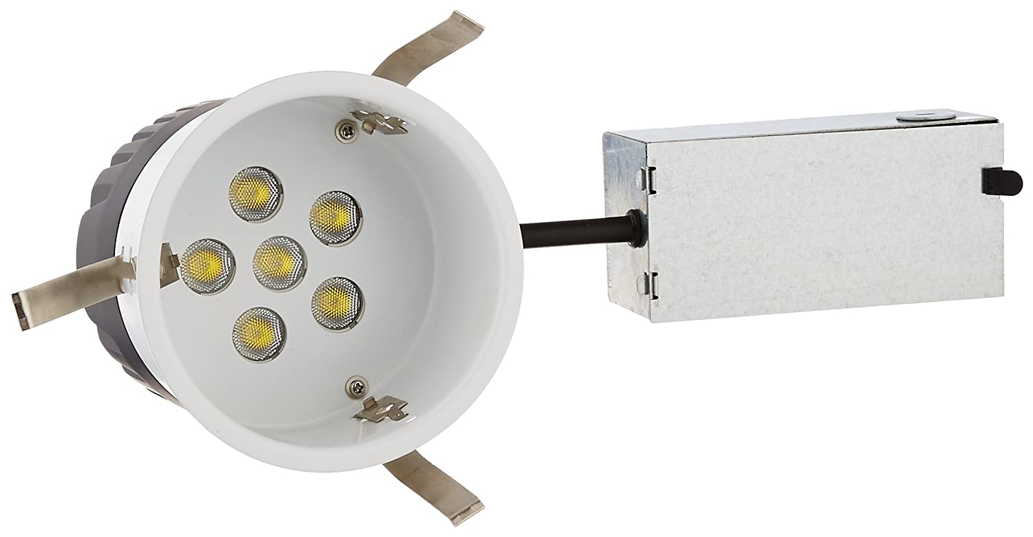 4500K Non-Ic Housing WAC Lighting HR-LED418-R-C LEDme 4-Inch Recessed Downlight Remodel