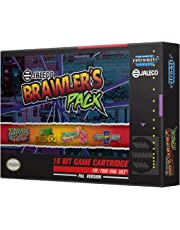 Retro-Bit Europe Jaleco Brawler's Pack PAL Version SNES Cartridge for Super NES  (Nintendo Super NES) [Importación inglesa]