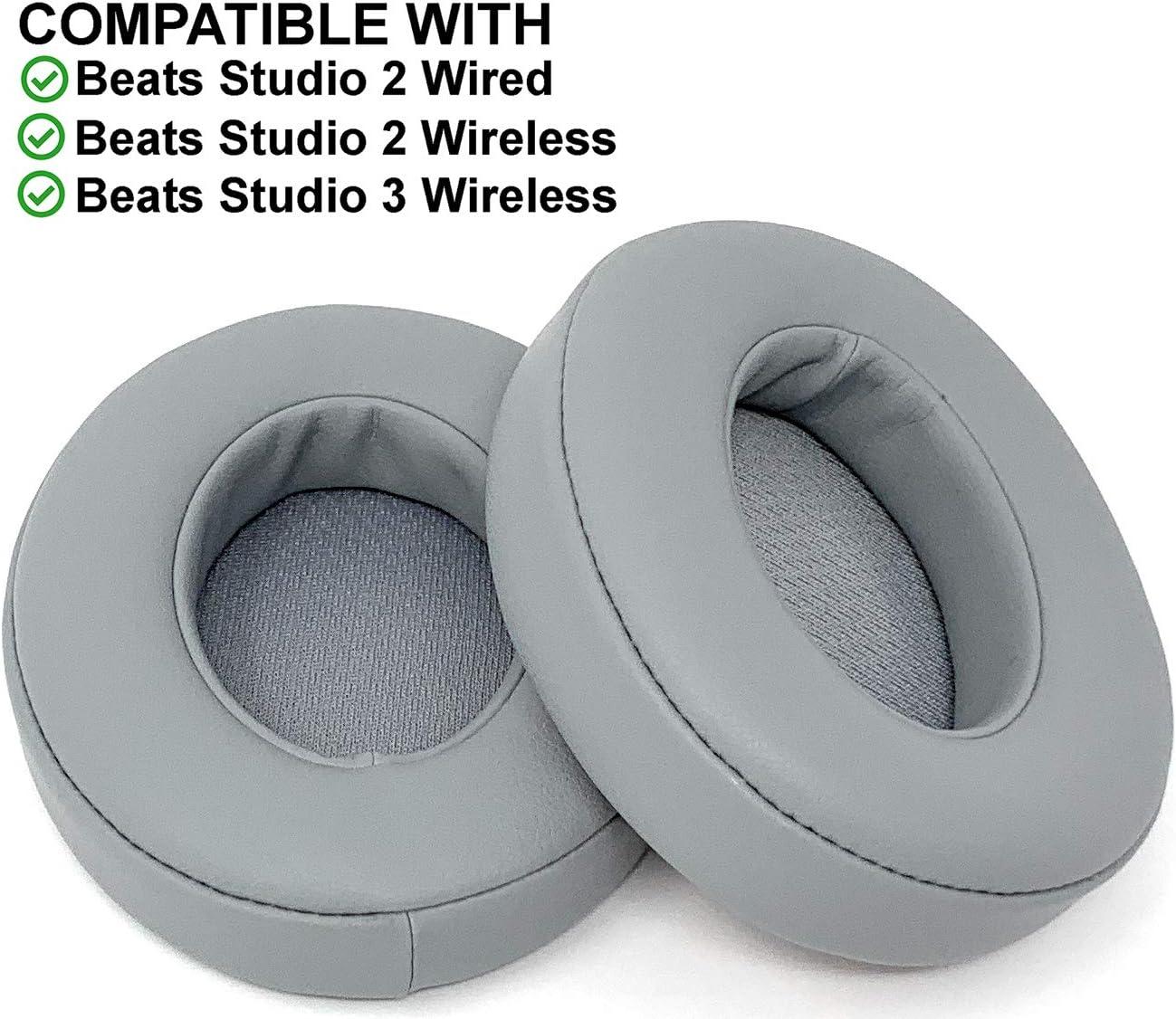 xperTEK - Almohadillas de Repuesto para Auriculares inalámbricos Beats Studio 2.0 y Studio 3, Color Gris: Amazon.es: Electrónica