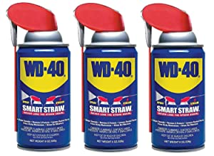 WD-40 Multi-Use Product with Smart Straw Sprays 2 Ways, 8 OZ - (3-Pack)