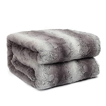 Amazon.com: HoroM - Manta suave y acogedora para cama o sofá ...
