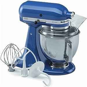 NEW New Kitchenaid Stand Mixer tilt 5-QT Ksm150psfb Metal Artisan Tilt French Blue