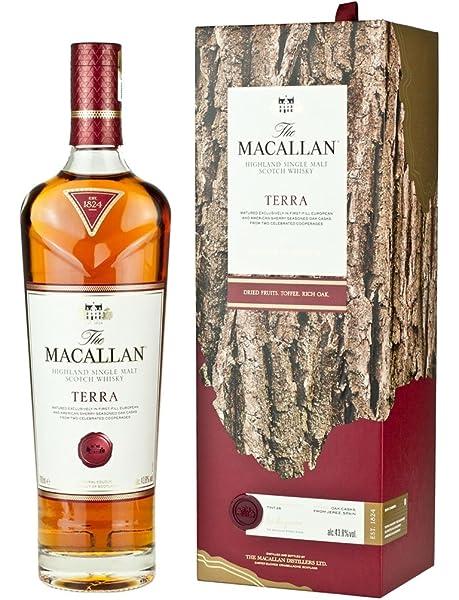 The Macallan Whisky Terra 43,8º - 700 ml: Amazon.es: Alimentación y bebidas