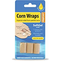 Profoot Soft Gel Corn Wraps - Pack of 3 Wraps