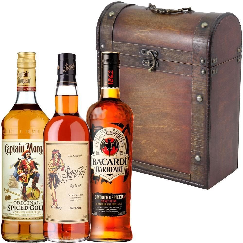 Spiced Rum Gift Pack: Amazon.co.uk: Grocery