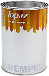 Topaz Satin Emulsion, Yellow, Litre,24072