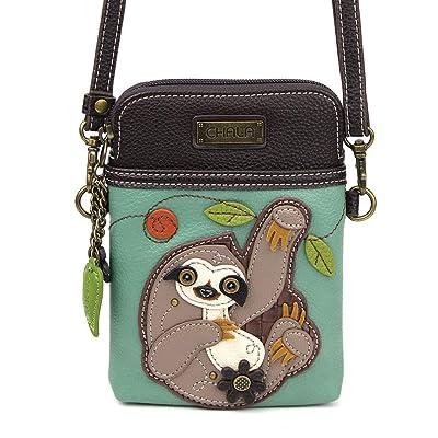 Chala Cow Cellphone Crossbody Handbag