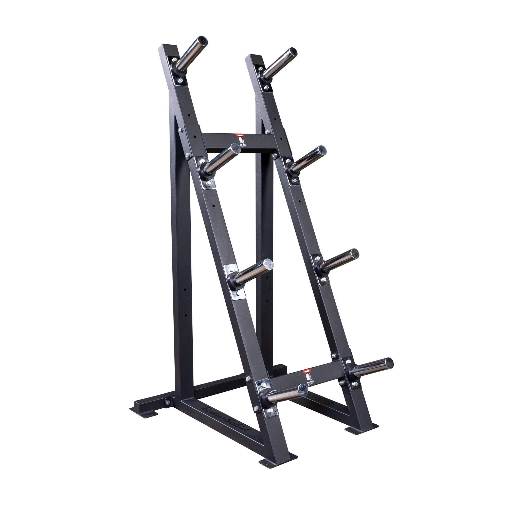 Body-Solid 1500 Pound Capacity High Capacity Olympic Plate Rack