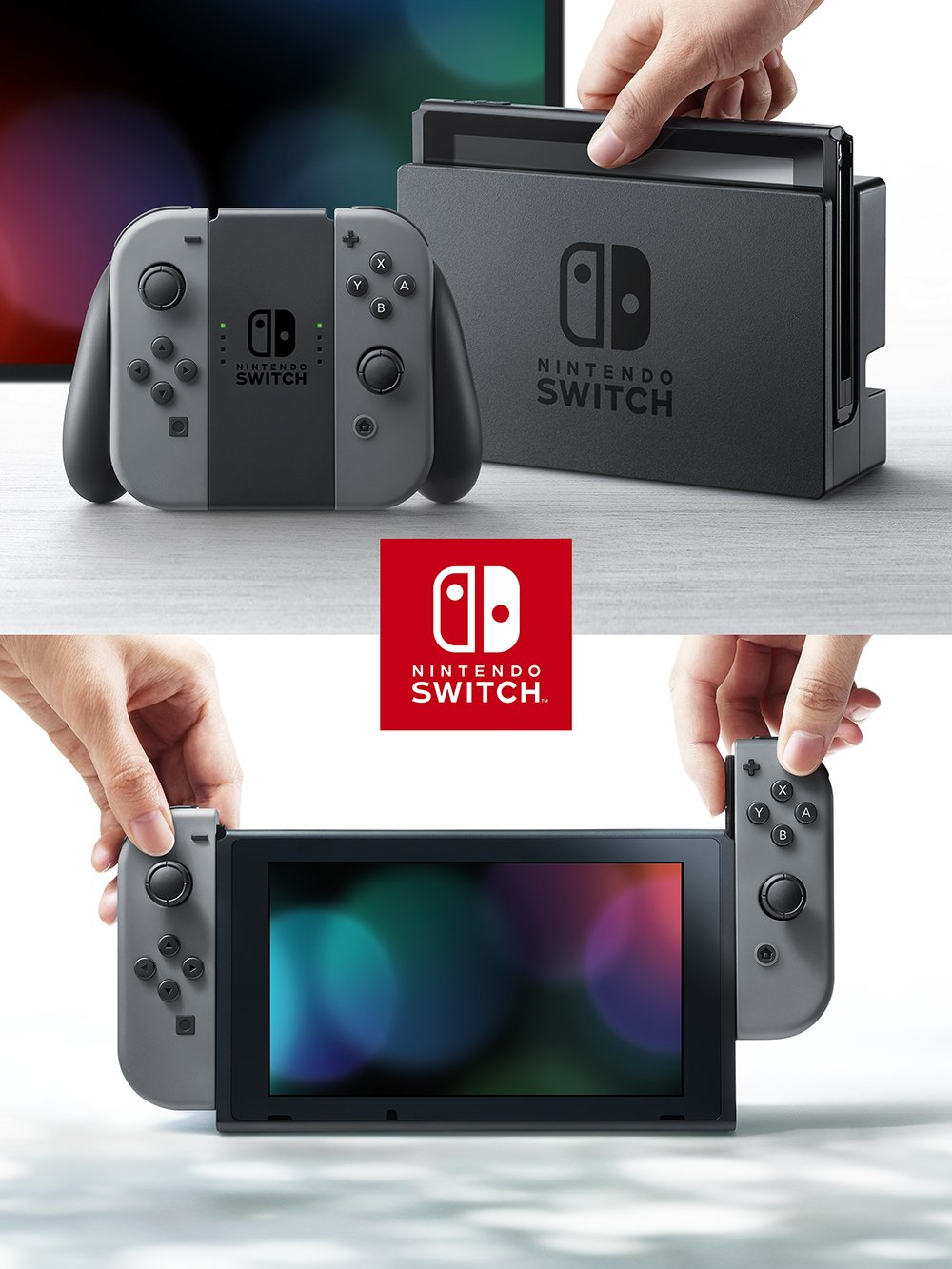 Nintendo Switch Joy-Con (L) / (R) グレー
