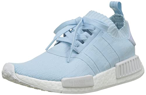 adidas Damen NMD_r1 Sneaker, Schwarz core Black/Ice Blue, 36 EU
