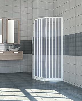 Extensible PVC puerta ducha cuadrante abertura lateral 70/80: Amazon.es: Hogar