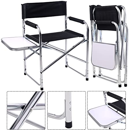 FDS Aluminum Portable Director's Chair