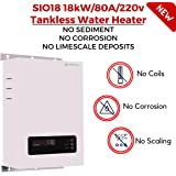 SioGreen SIO18 18kW/80A/240v Infrared Electric Hot Tankless Water Heater No Corrosion No Limescale Whole House