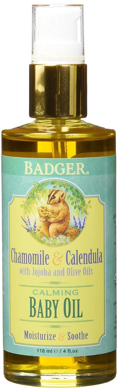 Badger Balms Baby Oil 4 Fluid Ounces 634084284010