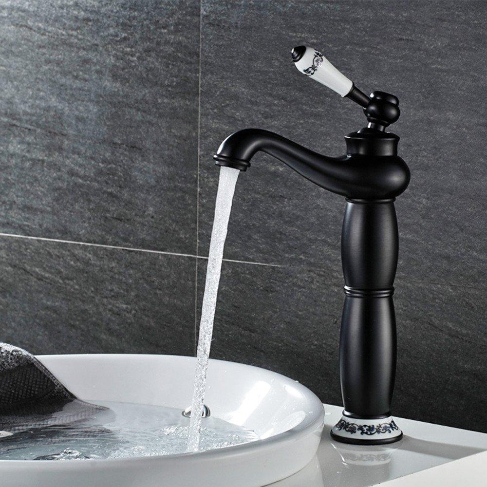 Continental antiken Becken Sitzbank Waschbecken Waschbecken Dusche mit heißem und kaltem Wasser, Abs. B