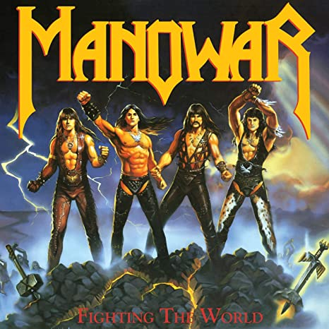 Amazon | Fighting the World [Analog] | Manowar | 輸入盤 | 音楽