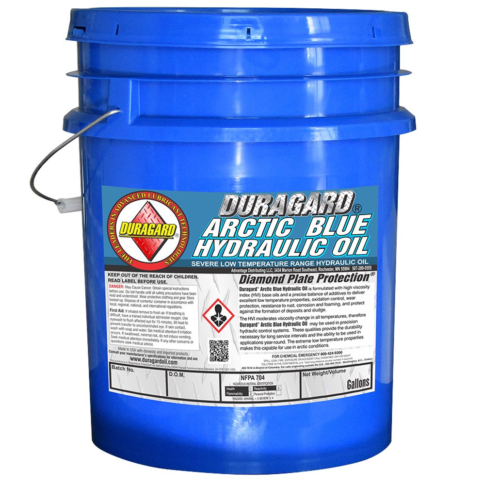 Duragard Arctic Blue Hydraulic Fluid - 5 Gallon Pail by Duragard