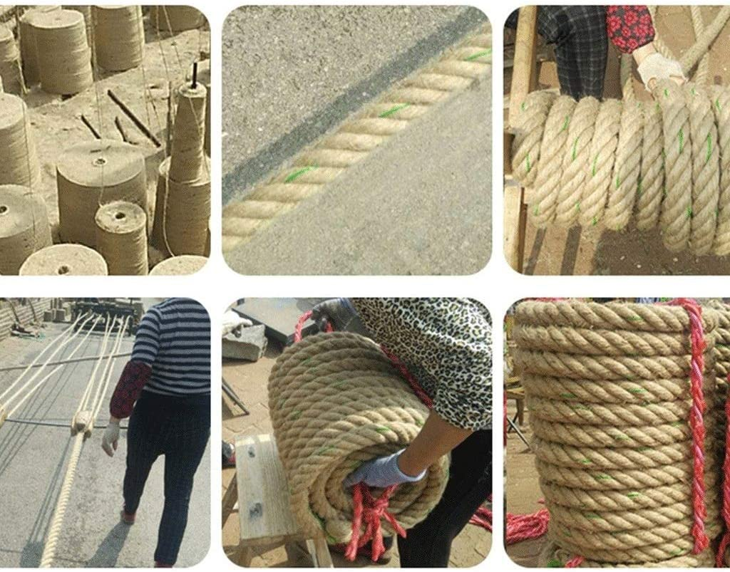 Bundled Packing Rope Decorative Rope Jute Rope Nylon Rope String 20MM//5-30M Size : 20MM//30M Hemp Rope