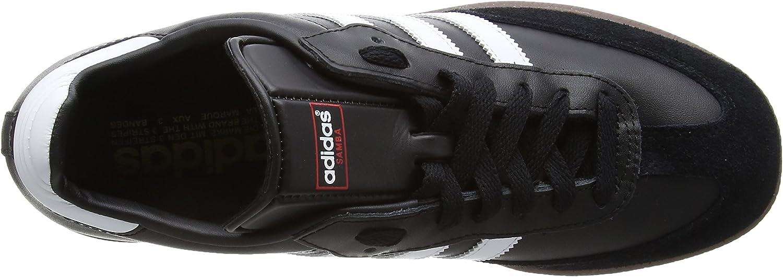adidas Originals SAMBA G17102, Baskets mode homme Noir Black 1 White Gum5