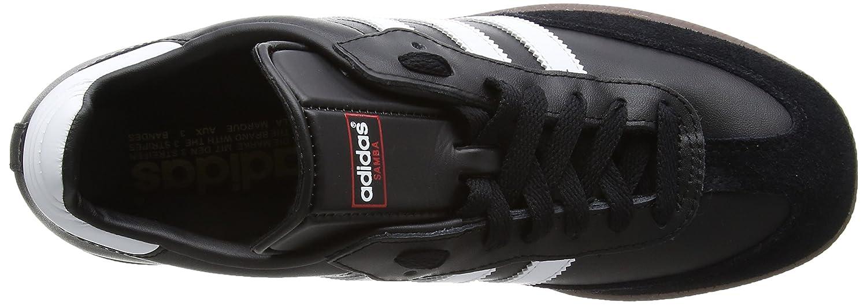 best service d5a5d c4b9b adidas Samba, 019000, Unisex-Erwachsene Low-Top Sneaker,Schwarz (black  1whitegum5),47 13 ADIDAS Amazon.de Schuhe  Handtaschen