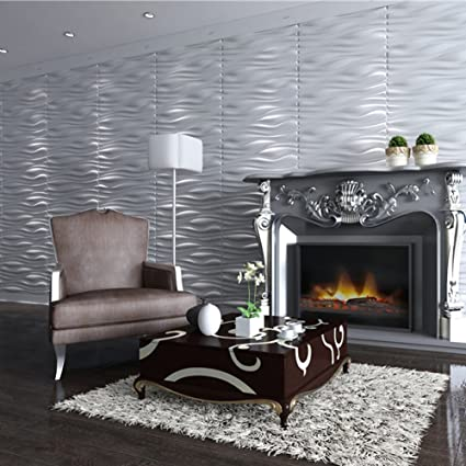 Beau Kooton 3D Wall Panels,Decorative Wall Panels For Living Room Bedroom (6  Pack,