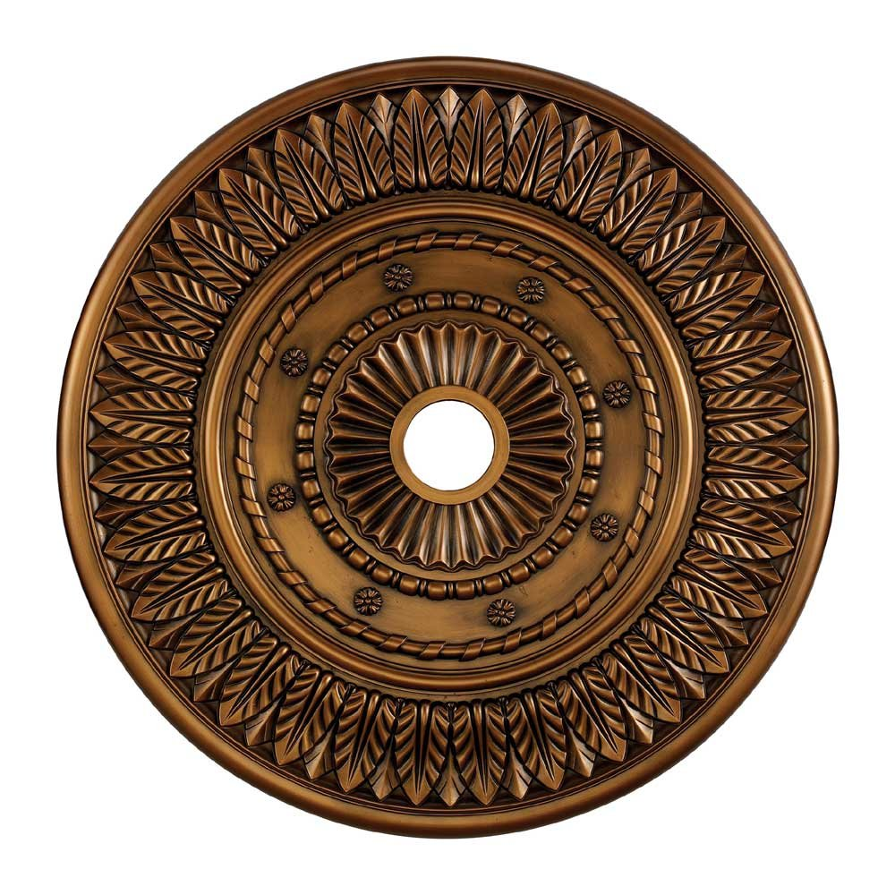Corinna Medallion 33-in., Antique Bronze Finish
