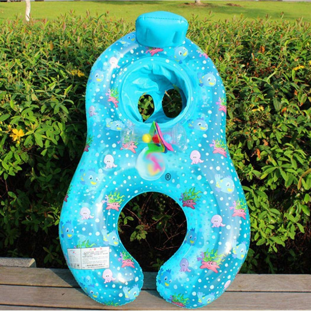 Kaimu Inflatable Mother Baby Swimming Ring Seat Pool Float Toy Baby Floats by Kaimu (Image #2)