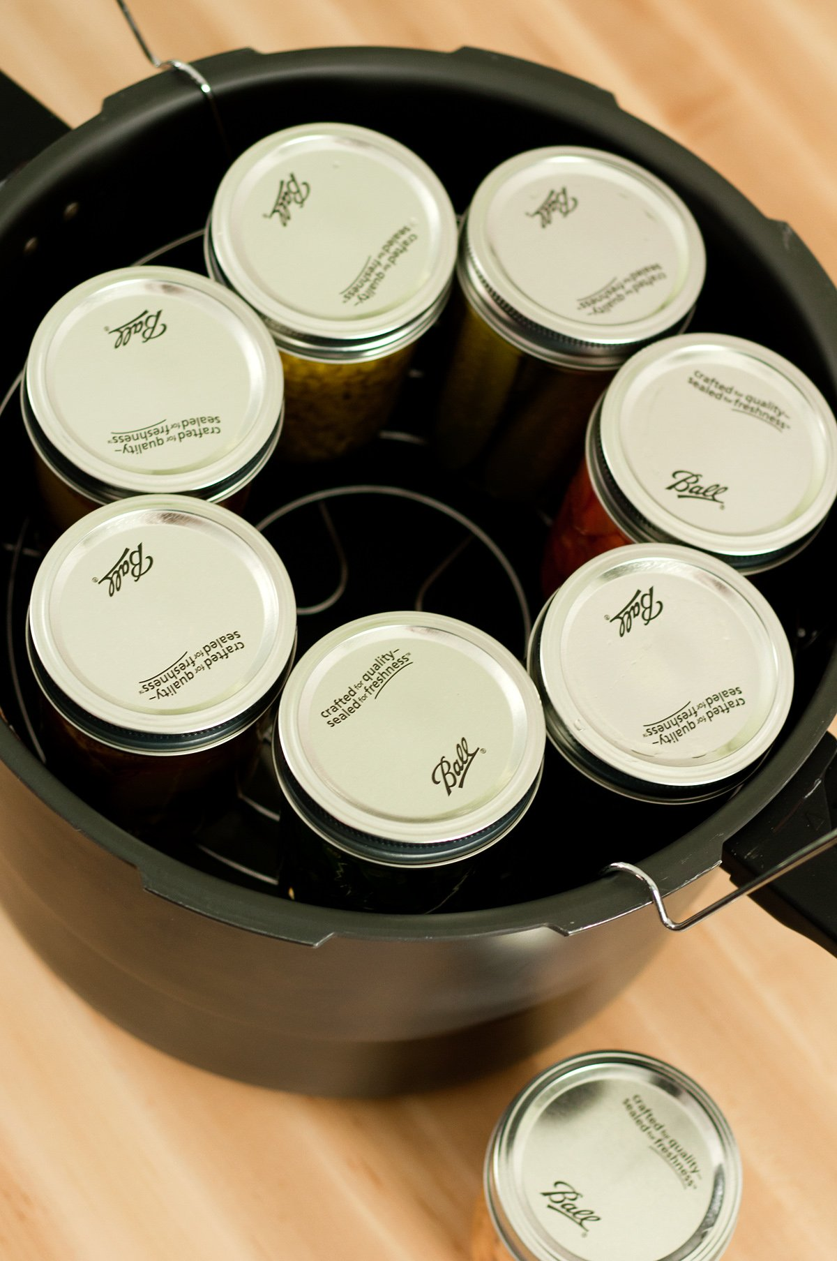 Granite Ware Enamel-on-Steel Canning Kit with Blancher, 12-Piece