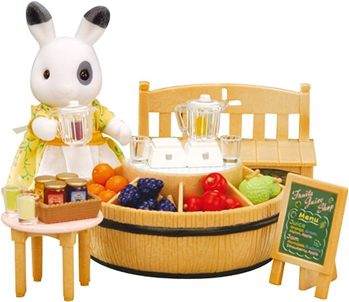Amazon.es: SYLVANIAN FAMILIES 2792 -Juguete de Puesto de Fruta de la Madre Conejo: Juguetes y juegos