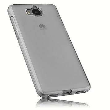 Mumbi Funda Compatible con Huawei Y6 2017 Caja del teléfono móvil ...
