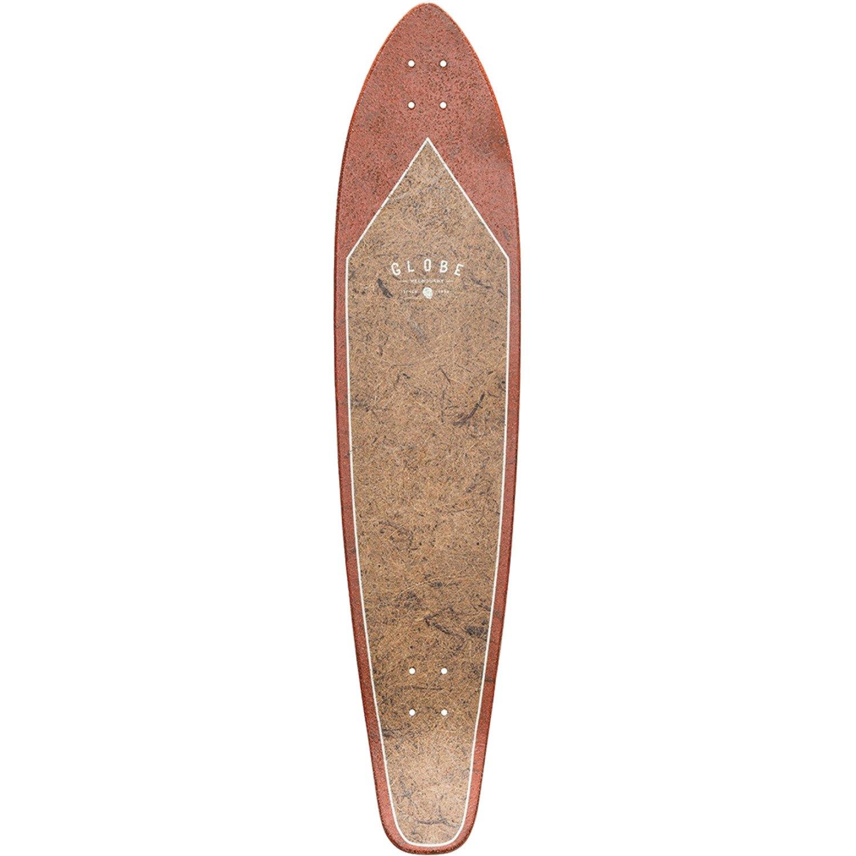 GLOBE Skateboards Byron Bay Longboard Skateboard Deck Coconut//Rust Globe Hard Goods 10025046G