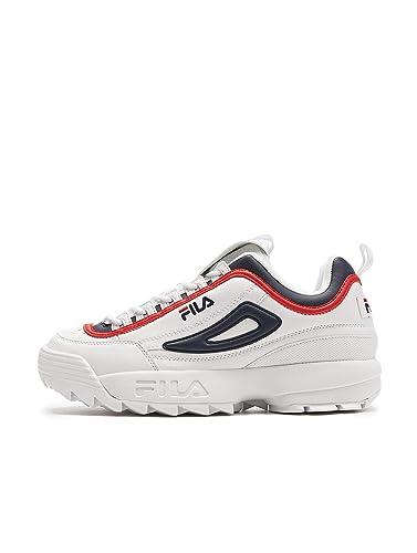 Amazon.com | Fila Sneakers Uomo 44 Bianco/Rosso/blu ...