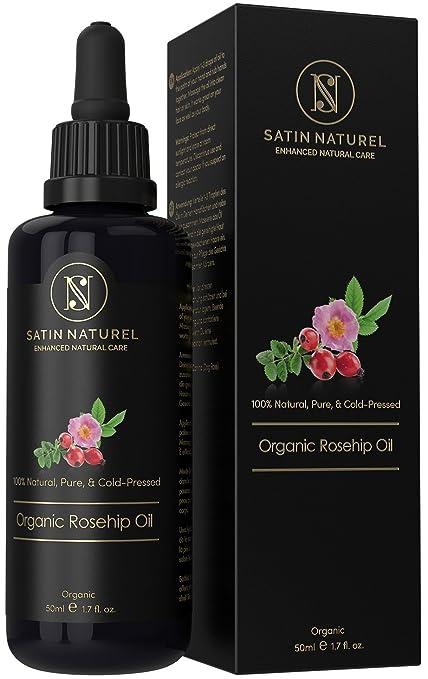 Aceite de Rosa Mosqueta Orgánico 100% Puro y Natural de Calidad Superior 50ml / Certificado