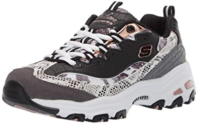 1b5ad4bee471 Image Unavailable. Image not available for. Color  Skechers Women s D Lites-Runway  Ready Sneaker ...