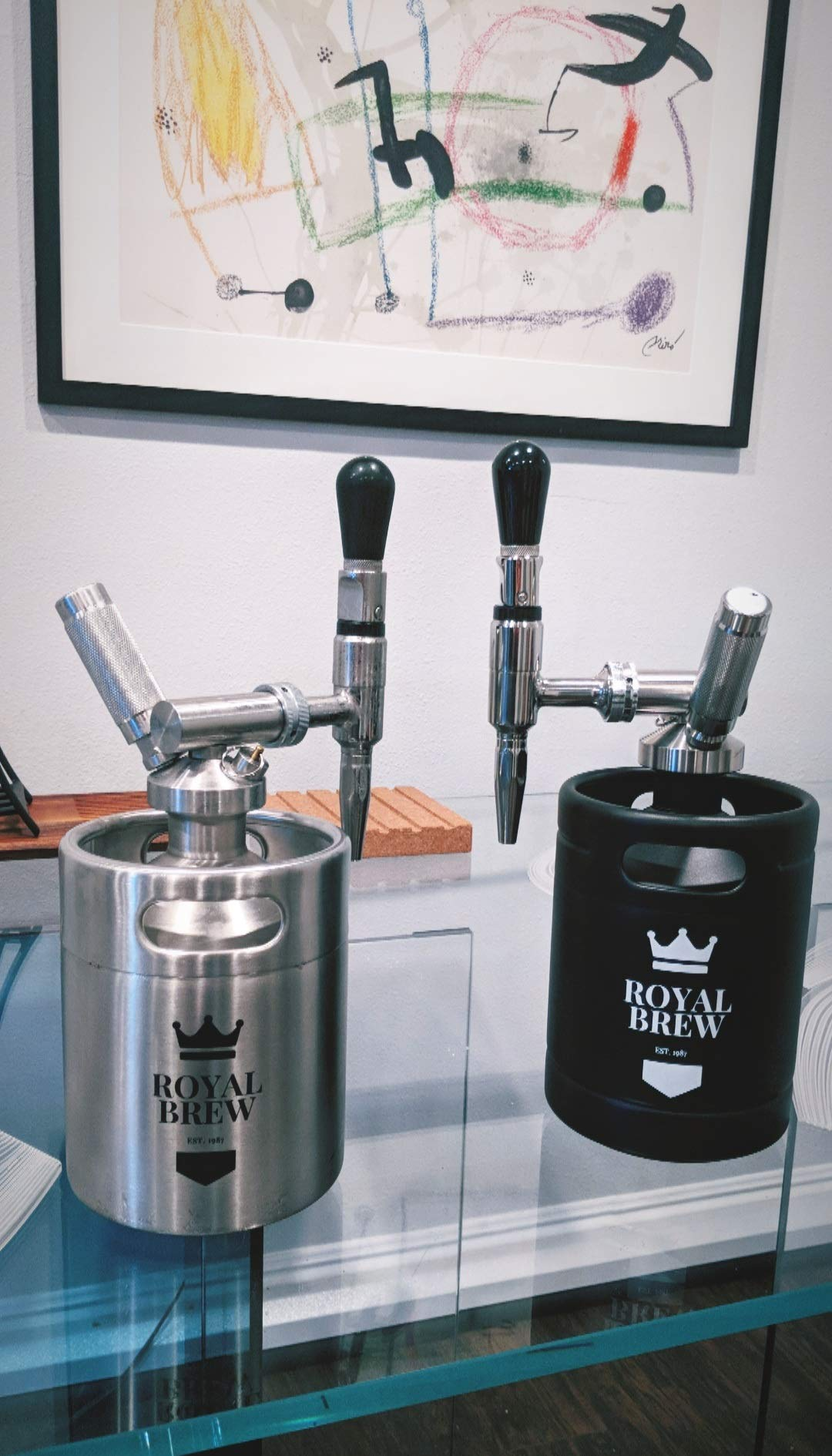 Stout Beer Faucet 304 Food Grade Stainless Steel - Nitrogen Draught and Nitro Coffee Faucet by Royal Brew by Royal Brew (Image #8)