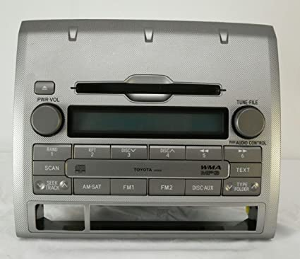 Amazon com: Toyota Tacoma Radio 6 Disc CD Player OEM A51837