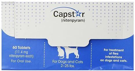 Novartis Capstar - Tabletas de pulgas para Perros y Gatos