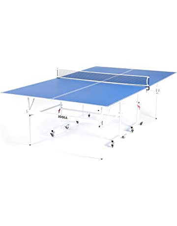 5ac06af9c JOOLA Quadri - Indoor 15mm Ping Pong Table with Quick Clamp Ping Pong Net  Set -