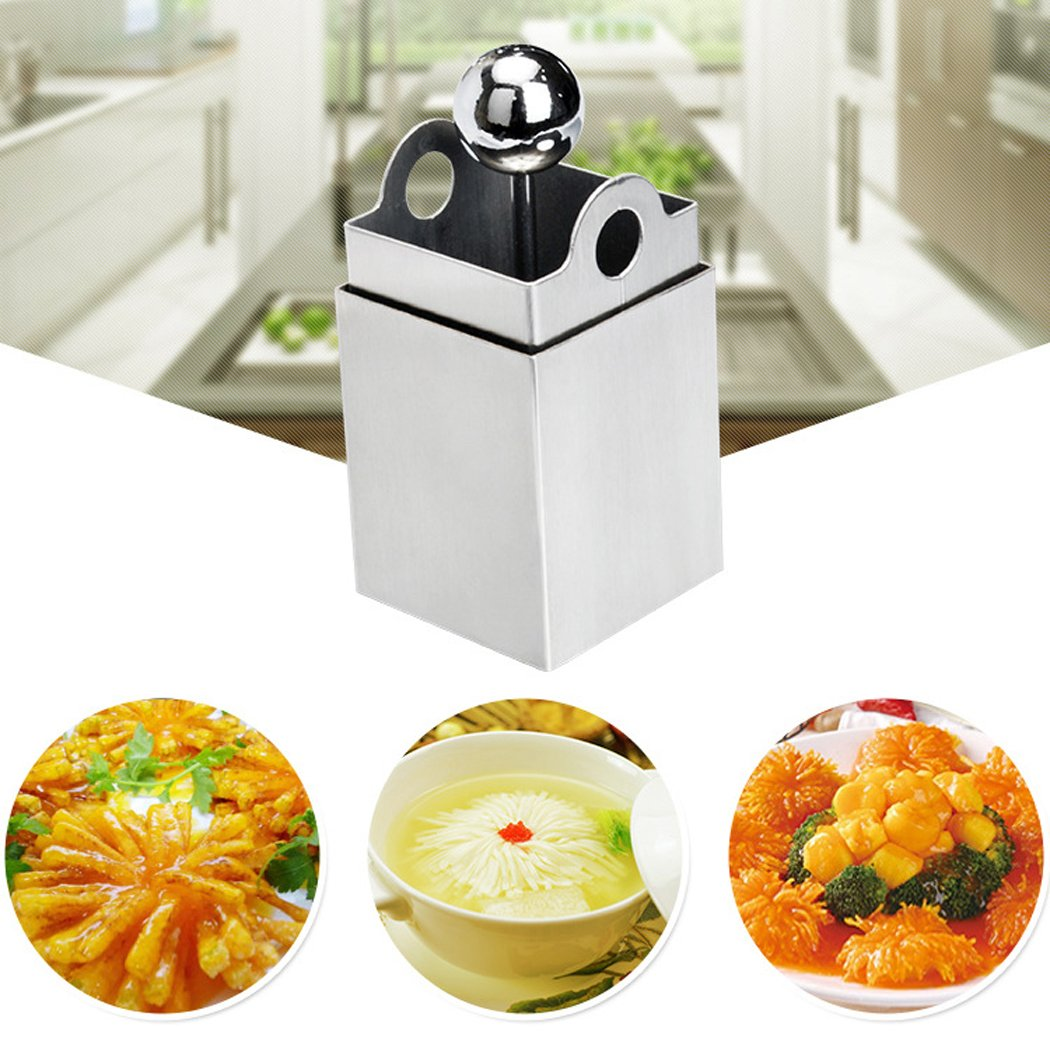 Outgeek Tofu Press Mold Kitchen Gadget Stainless Steel Tofu Maker Press Kitchen Tool