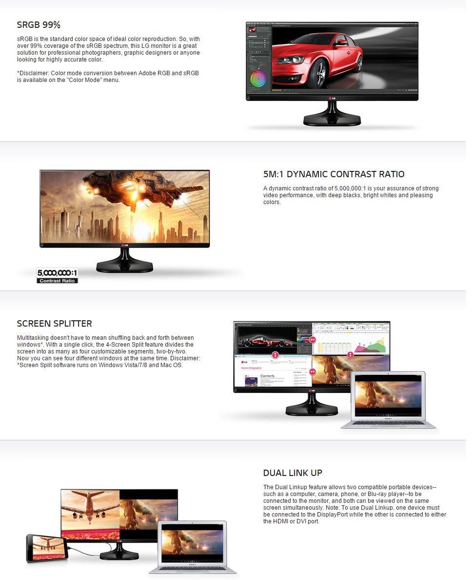 Amazon com: LG 29UM55 29