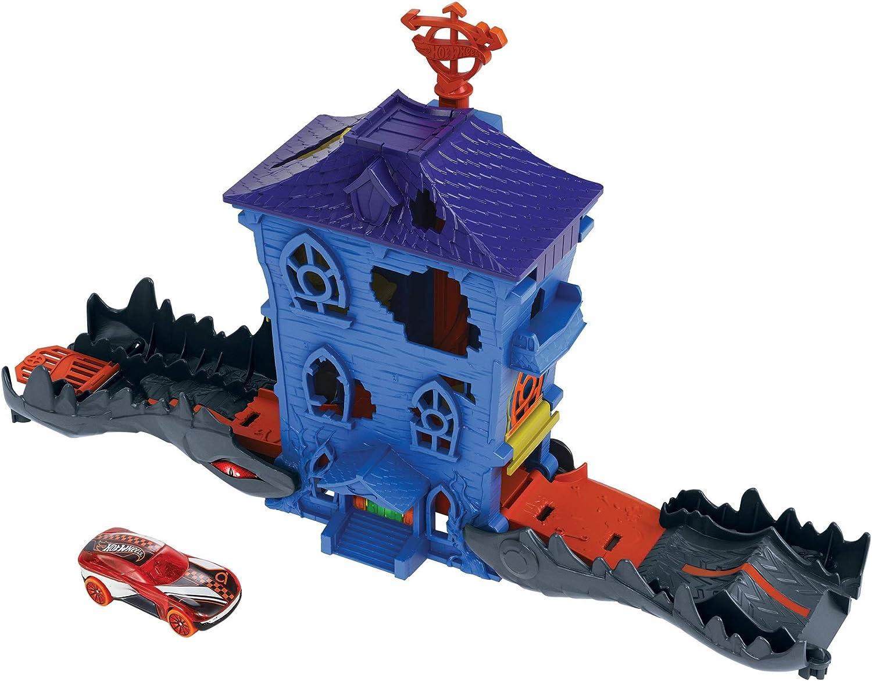 Hot Wheels Croc Mansion Attack, Playset