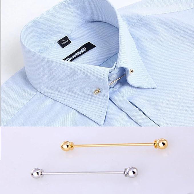 JueYan - Broche para cuello de camisa, alfiler de corbata ...