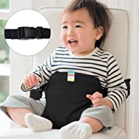 YISSVIC Portable Baby Feeding Chair Belt Toddler Safety Seat with Straps Child Chair Soft Belt Outdoor Portable Travel High Chair Booster Baby Seat Belt[2018 Updated]Black