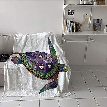 Custom Homelife Manta de viaje para niños, impresión digital (60 ...