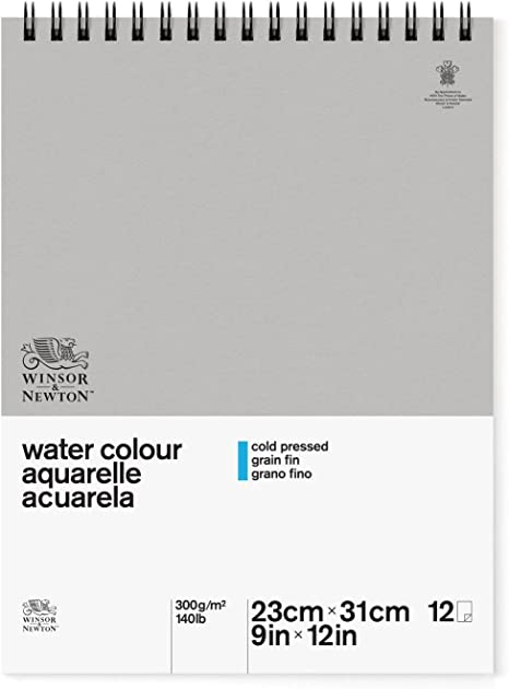 300gsm Classic Watercolour Paper Gummed Pad A3 Cold Pressed Winsor /& Newton