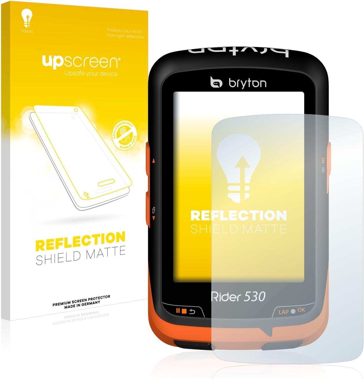 upscreen Protector Pantalla Mate Compatible con Bryton Rider 530 Película